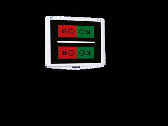 Ecran d'optotypes CS 550