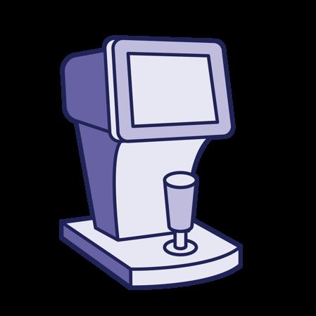 Image de la catégorie Auto-kérato-réfractomètres