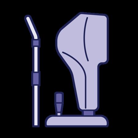 Image de la catégorie Topographes, Microscope spéculaire