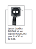 option caméra digitale et son logiciel IMAGECAM3