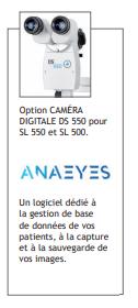 Option caméra digitale DS 550
